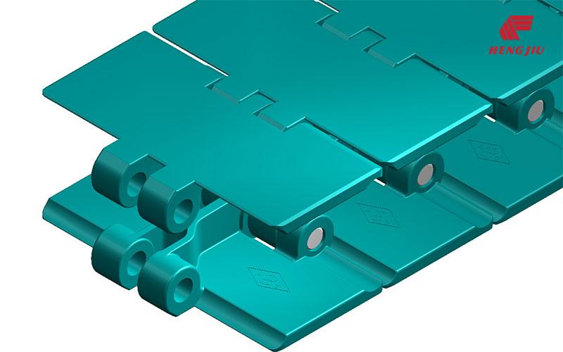 塑料平顶链板
